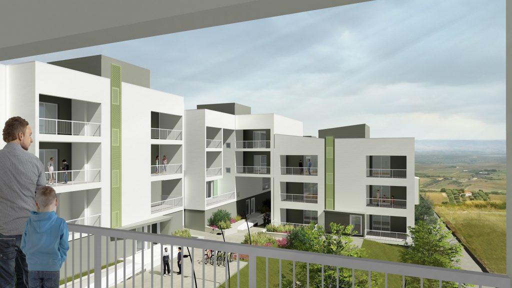 matera social housing