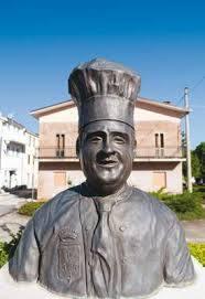 roio del sangro foto statua cuoco