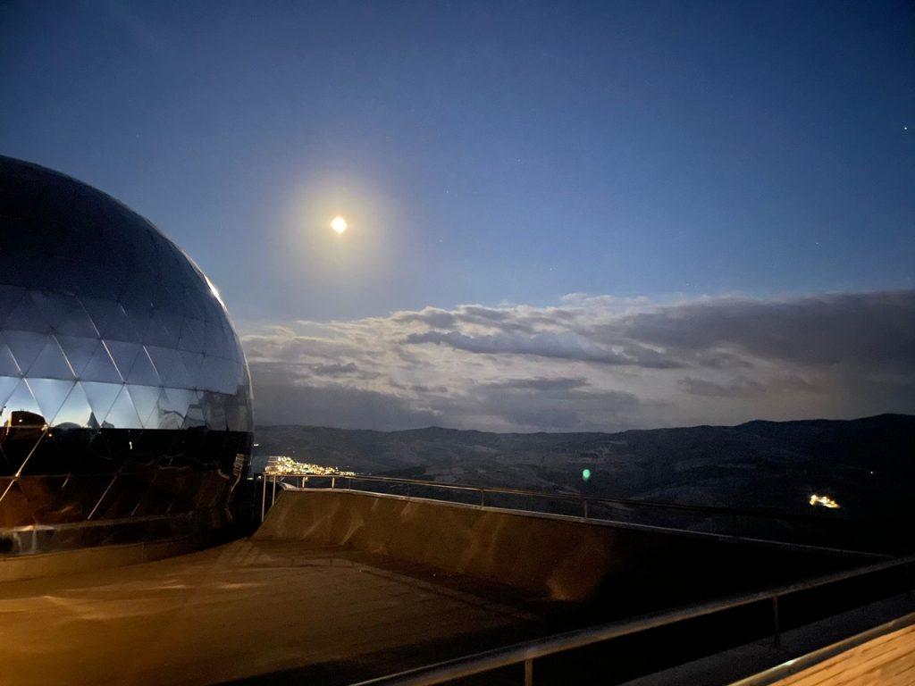 il planetario osservatorio astronomico di Anzi
